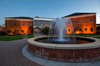 Hawkins Conard Student Center & Fountain