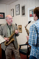 Tom Reed Saxophone Lesson