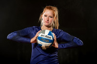 2015 Volleyball Sports Portraits