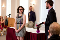 Honors Cording Ceremony, May 2016