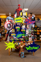 Campus Store Marvel Display