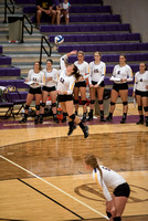 AU vs Malone Volleyball, Sept 2016
